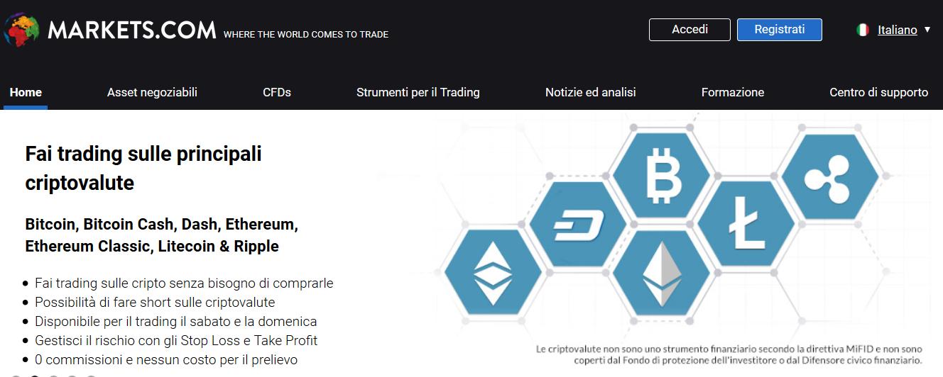 markets broker