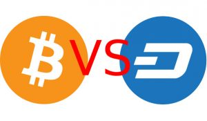 Bitcoin Dash differenze