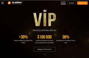 iq option conto vip