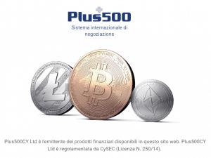 criptovalute trading plus500
