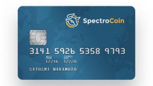 spectrocoin carta di debito