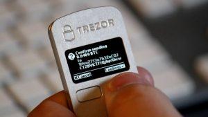 hardware wallet criptovalute trezor
