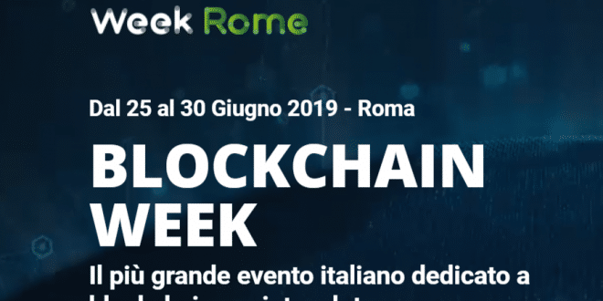 roma blockchain week