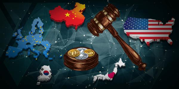 regolamentazione delle crypto in diverse nazioni