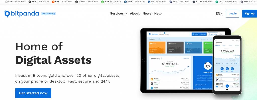 sito ufficiale bitpanda exchange
