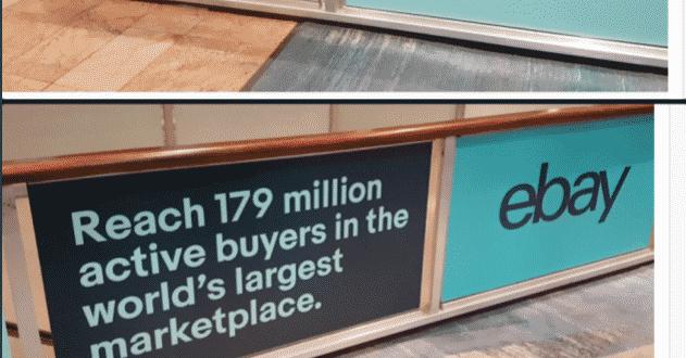 ebay pubblicità criptovalute