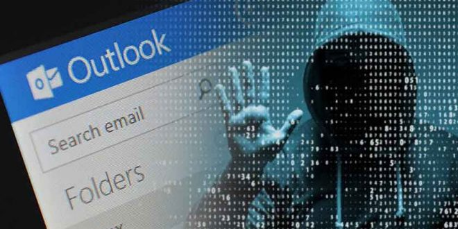 attacco hacker outlook
