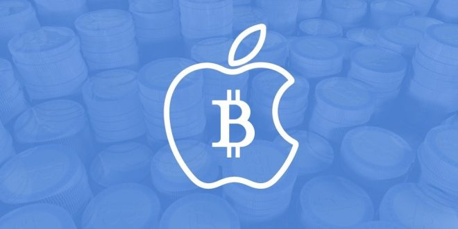 wallet criptovalute apple