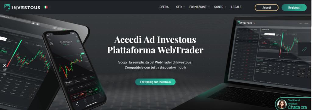 piattaforme di trading investous