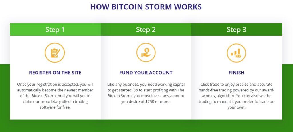 app bitcoin storm - come funziona.