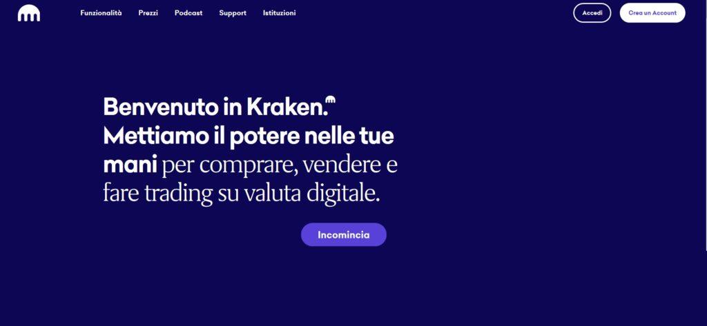 kraken - sito ufficiale del broker