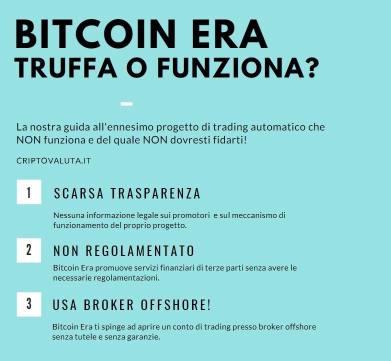 Bitcoin era come funziona - INFOGRAFICA REALIZZATA DA CRIPTOVALUTA.IT