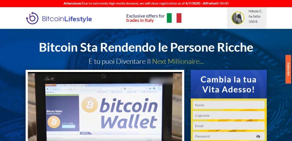 il sito ufficiale di bitcoin lifestyle
