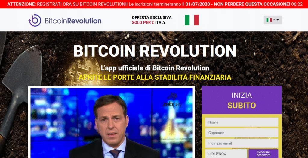 Cos'è e come funziona Bitcoin Revolution - guida completa