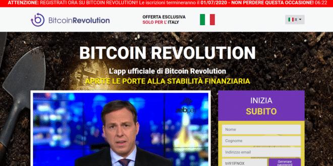 bitcoin revolution soldi facili o truffa opinioni e recensioni scanner per criptovalute