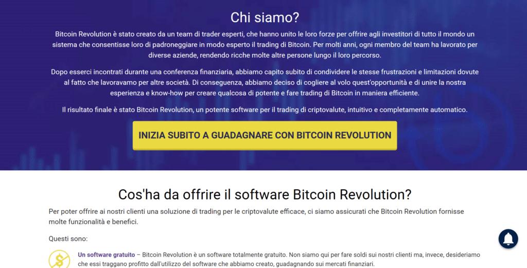 cosa offre bitcoin revolution