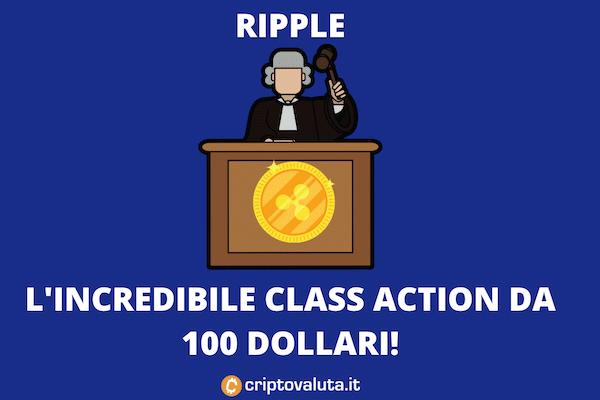 Class Action Ripple 100 Dollari in Florida