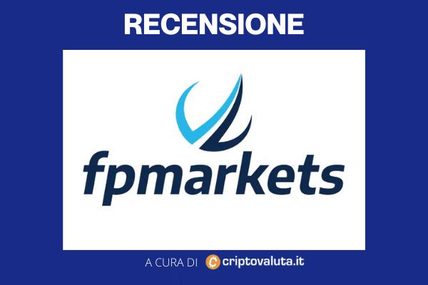 Recensione Criptovaluta.it su FP Markets