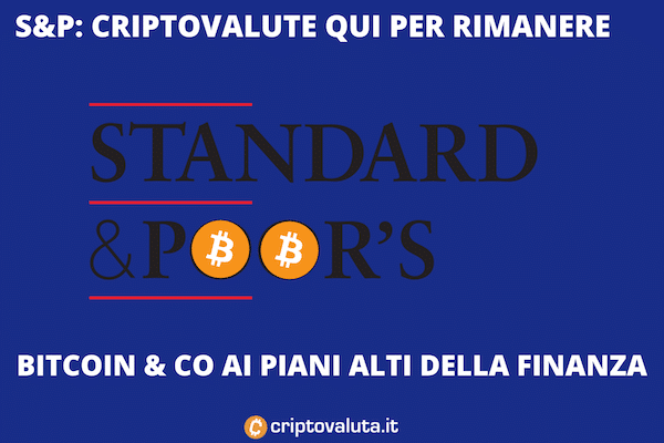 Standard Poors su Bitcoin e altre criptovalute