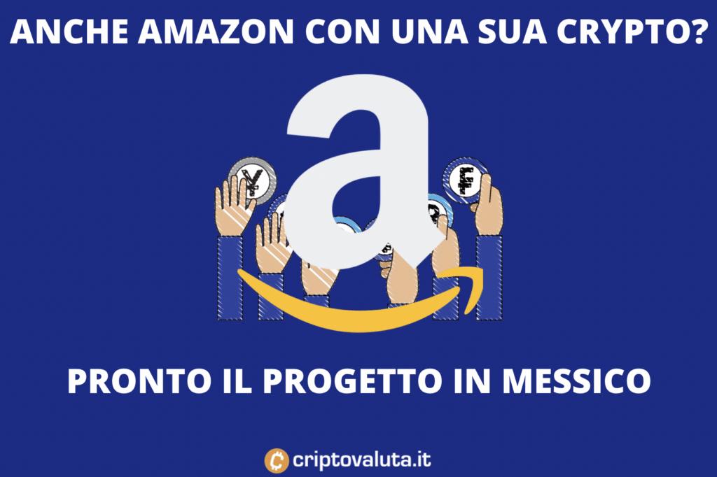 Amazon Cripto - pronto nuovo sistema di pagamenti?