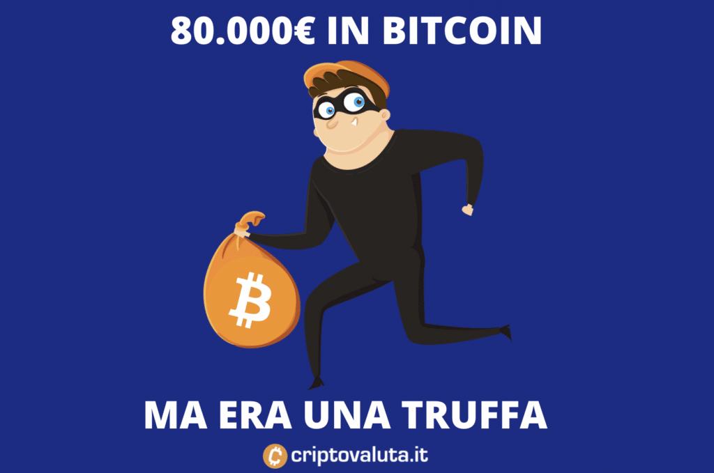 Bitcoin truffa a Vicenza - come evitarle