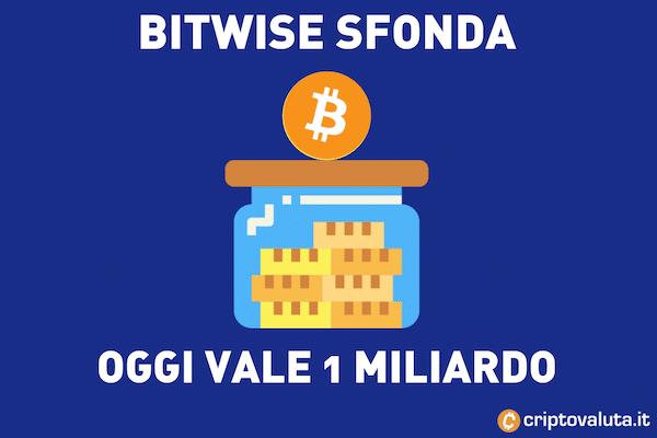 Boom Bitwise - ora vale 1 miliardo