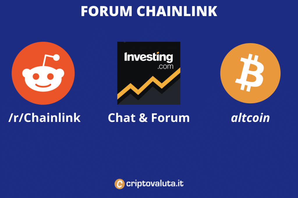 Forum Chainlink - infografica