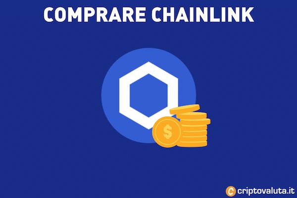 Guida per comprare Chainlink LINK - con infografiche