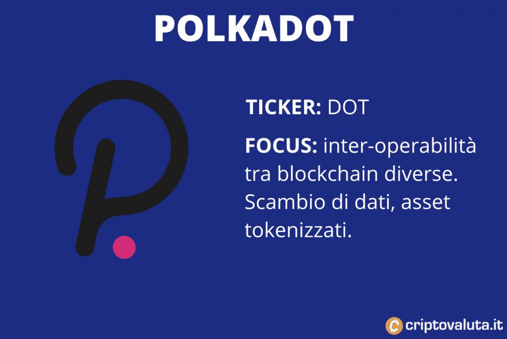Scheda Polkadot - infografica