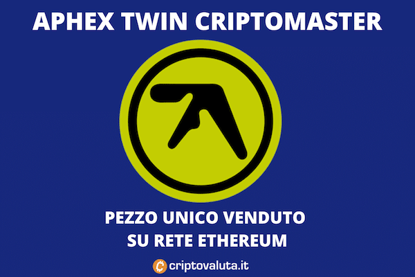 Aphex twin cripto nFT release