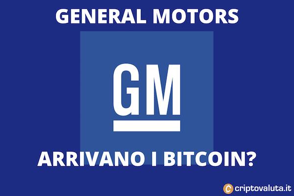 Bitcoin general motors