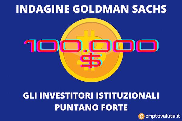 Goldman Sachs - investitori istituzionali