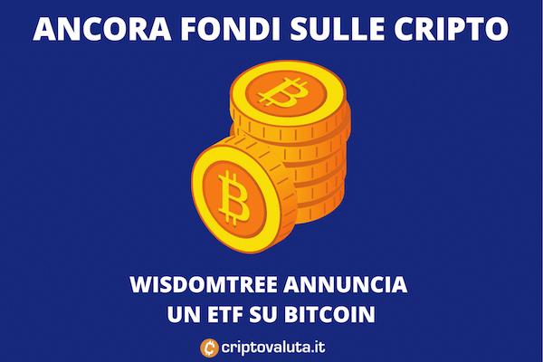 Wisdomtree fondo Bitcoin