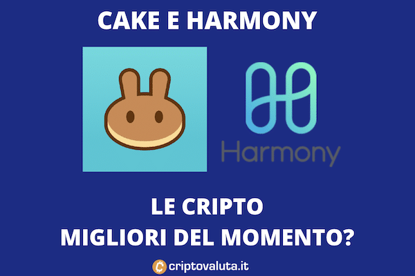 cake e harmony rialzi