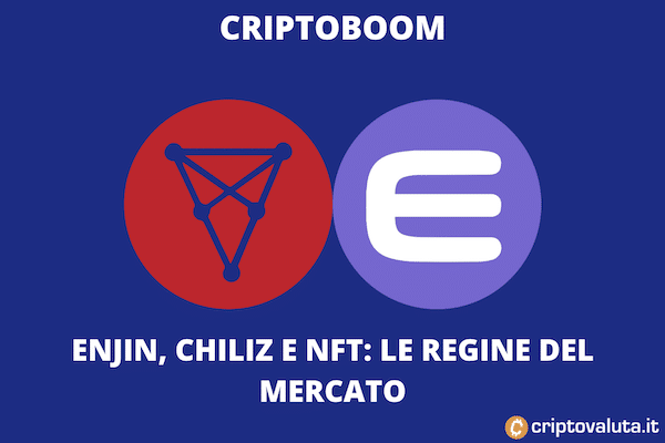 NFT Chiliz e Enjin Boom