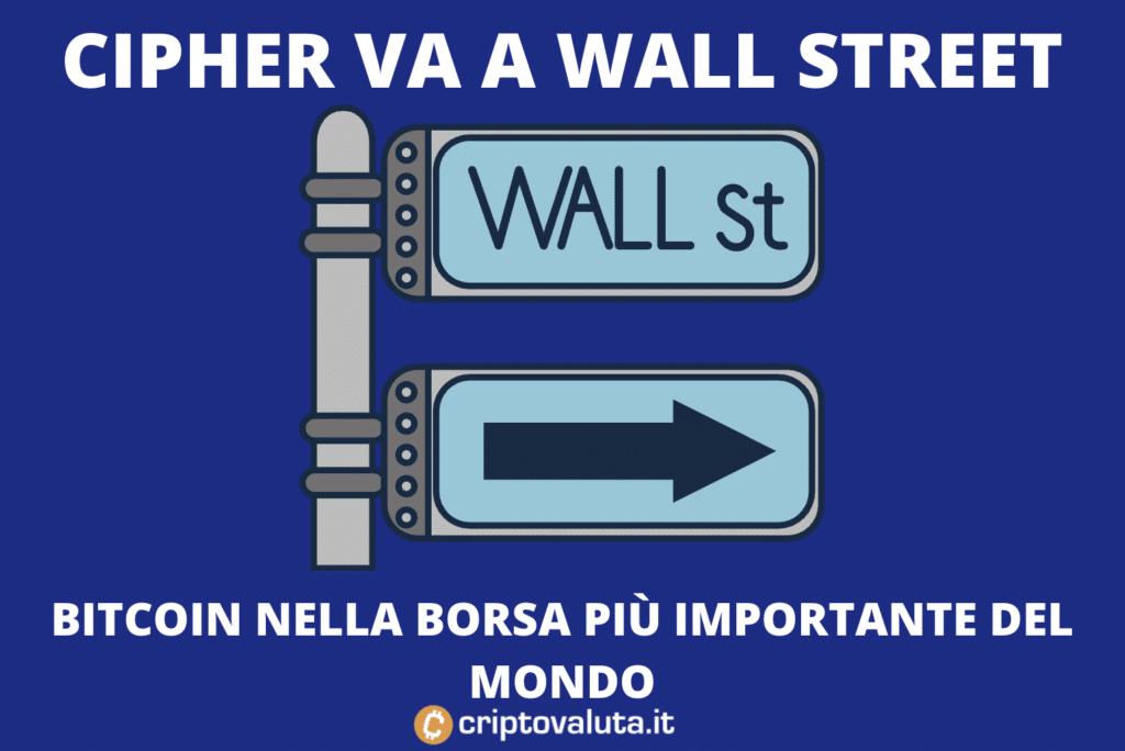Cipher Wall Street
