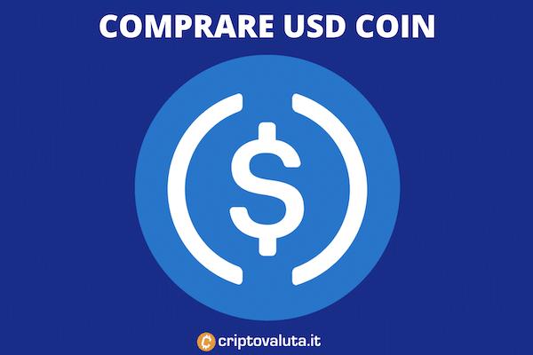 Comprare USD Coin - la guida con infografiche