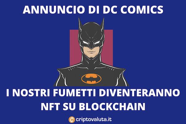 DC COMICS NFT