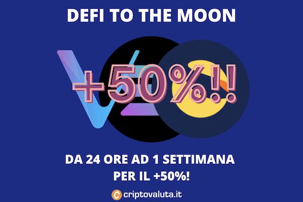 DeFi sulla luna - ecco chi guadagna di più