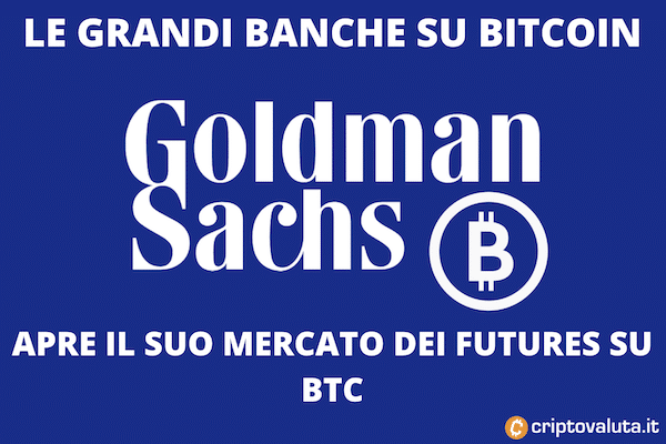 Bitcoin: goldman sachs all'attacco