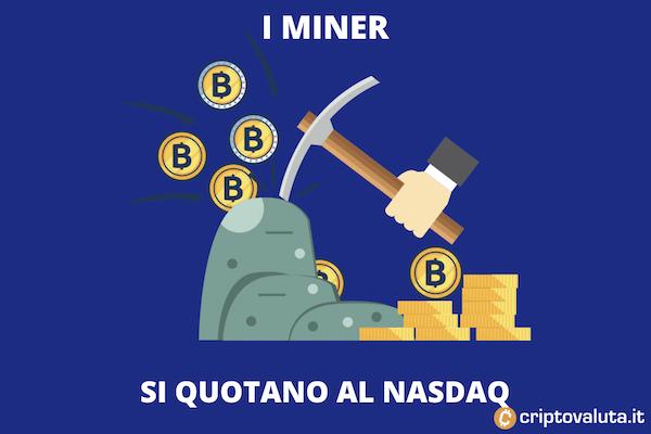 greenidge si quota al nasdaq con il mining di BItcoin