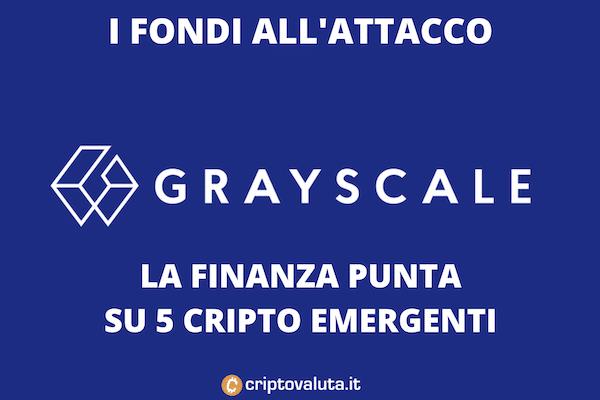 greyscale fondi per criptovalute emergenti