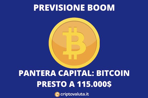 La previsione di Pantera Capital