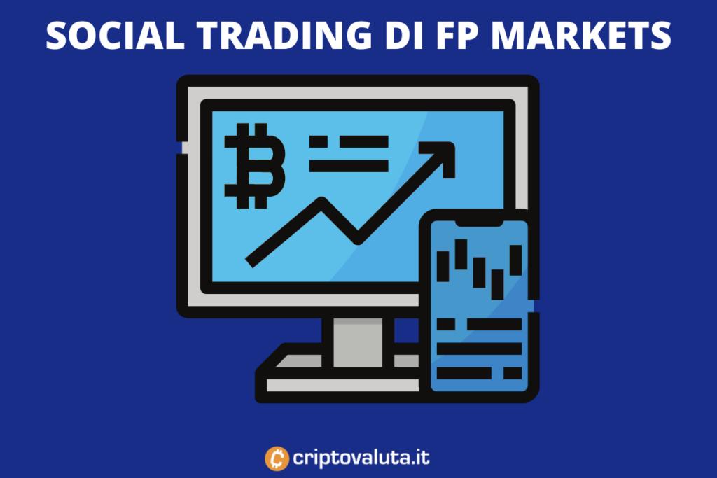 Copia trading di Fp Markets. Infografica a cura di Criptovaluta.it