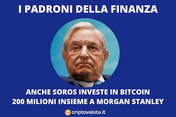 George Soros investe in Bitcoin