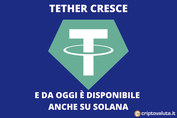 Tether pronto su Solana