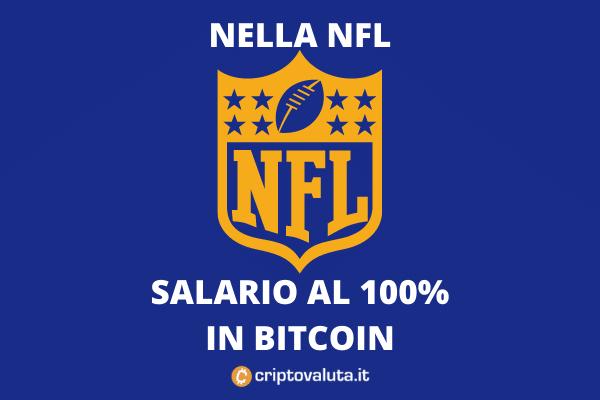 Bitcoin salario NFL
