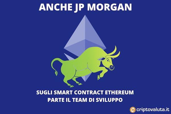 JP Morgan smart contract Ethereum