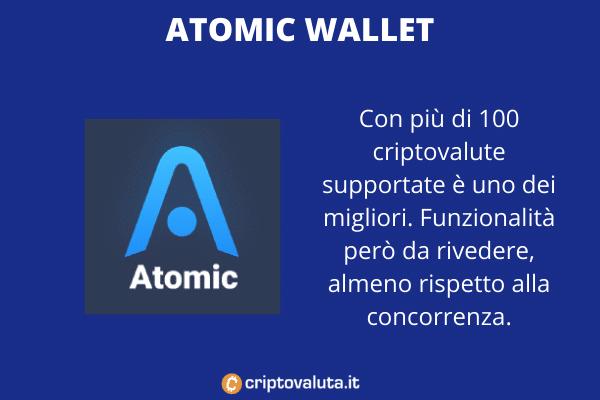 Atomic Wallet - a cura di Criptovaluta.it