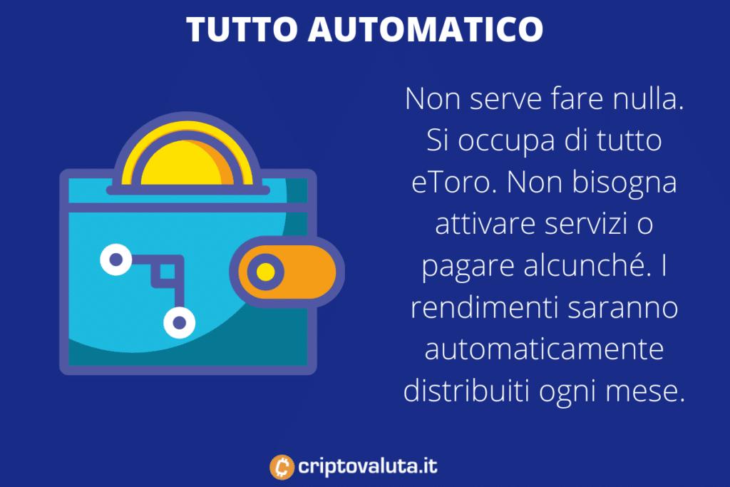 Staking automatico eToro - a cura di Criptovaluta.it